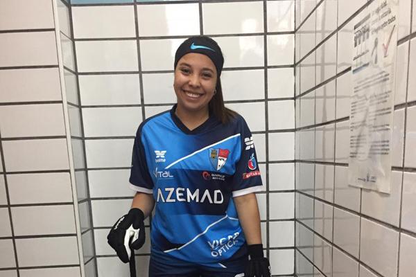 La jugadora argentina del Club Patín Alcalá, de solo 20 años, sólo quiere volver a casa