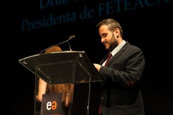 La Gala de Premios contó con numerosas personalidades del mundo de la cultura, como la actriz Nuria Espert o el dramaturgo Juan Mayorga.