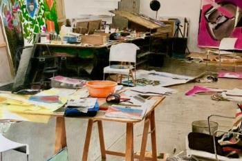 El Centro de Arte de Alcobendas alberga una exposición del artista sevillano Ángel Alén