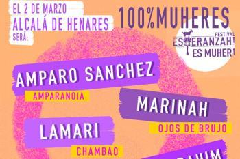 La Mari de Chambao, Amparanoia o Carmen París se subirán sobre las tablas del Paco de Lucía