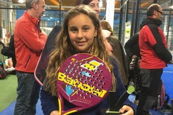 A sus diez años, la jugadora roceña ha conseguido alzarse con el número 1 en categoría benjamín