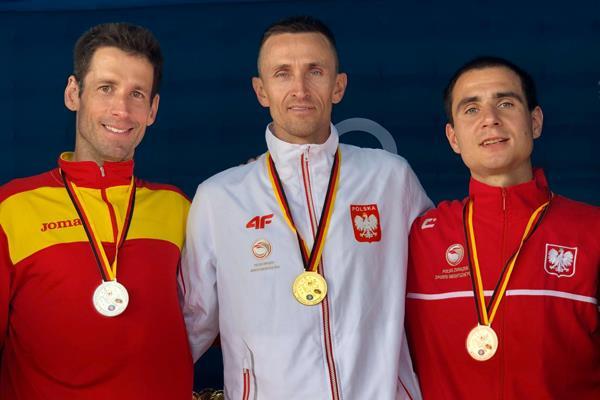 El mostoleño Rafael Martínez, Subcampeón de Europa de Maratón