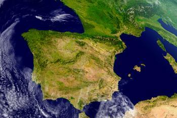 El área mediterránea y Cantábrico oriental están sufriendo un temporal provocado por una nueva DANA