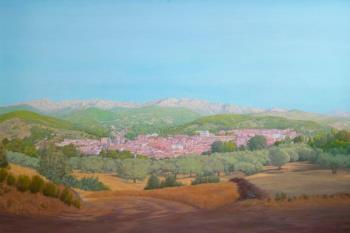 Las pinturas de Julián Cascón reflexionan sobre las distintas atmósferas de su entorno