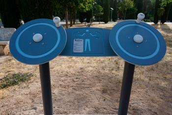 El circuito dispone de 17 elementos y carteles informativos para realizar correctamente los ejercicios
