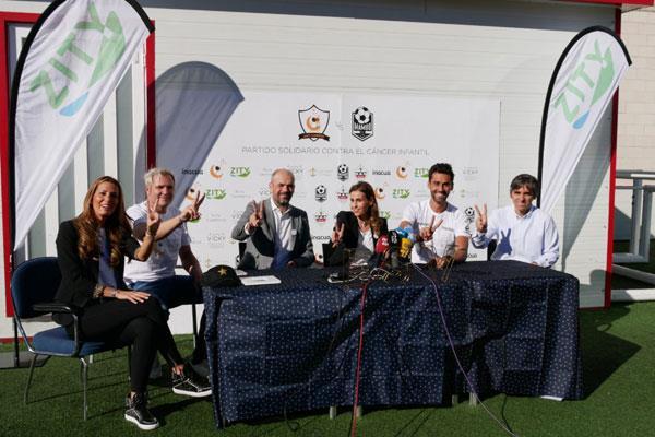 El partido de Arbeloa y Cañizares recauda 11.400 euros en pro del cáncer infantil