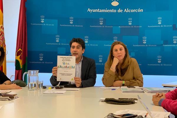 """Alcorcón inicia la """"Campaña Integral de Limpieza"""""""