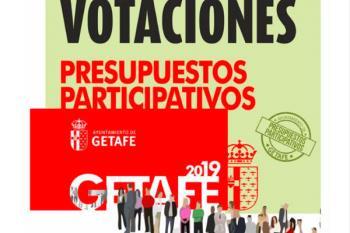 Los vecinos getafenses podrán votar entre 174 propuestas para mejorar los barrios de la localidad