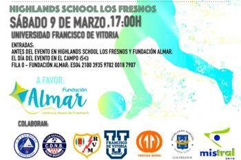 El próximo 9 de marzo se disputará el I Torneo de Fútbol Benéfico de Veteranos en favor de la Fundación Almar