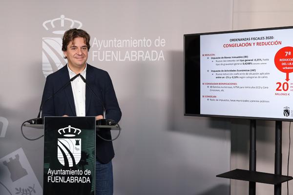 """Francisco Paloma, concejal de Hacienda: """"Hablamos de un presupuesto que coloca en el centro a las personas"""""""
