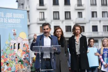 Aniorte ha anunciado la iniciativa junto a otras, como la constitución de una Comisión de Participación de la Infancia, durante la presentación de la Semana de la Infancia