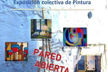 Los miembros del taller del centro cultural exponen sus obras en una muestra muy variada