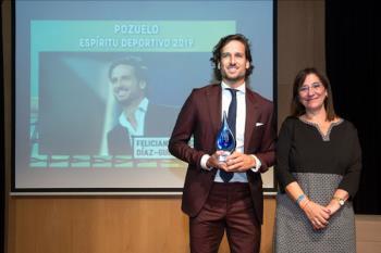 La V Edición de los 'Premios Pozuelo Espíritu Deportivo 2018' ha galardonado a los deportistas y clubes más exitosos de la ciudad durante la temporada pasada