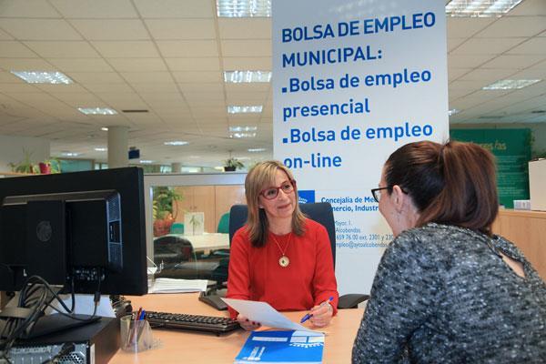 El tercer trimestre cierra con un 7,5% de desempleo en Alcobendas