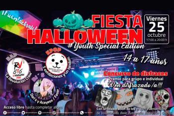 Este viernes no te pierdas la Fiesta de Halloween en la Casa de la Música de Fuenlabrada