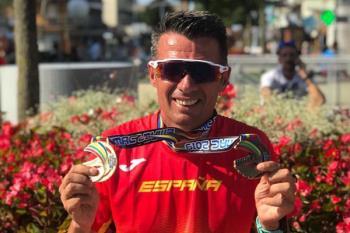 Nuestro deportista participó en el Campeonato de Europa Master celebrado en Venecia