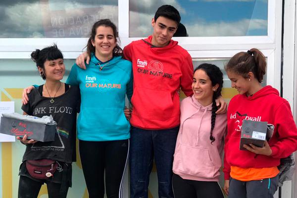 Los dos escaladores pertenecen al Club Deportivo Chango de Móstoles