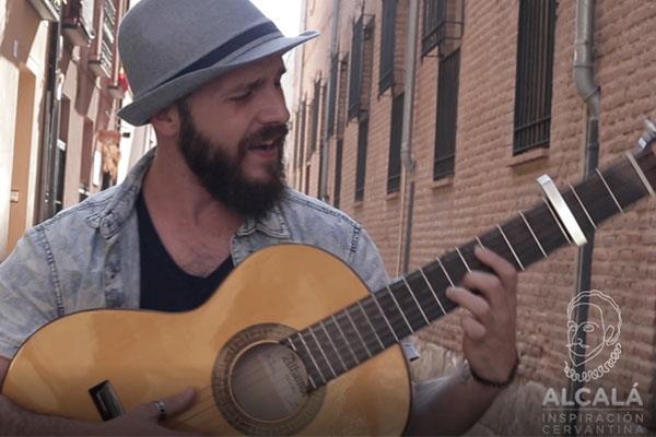 """El cantante Alcalaíno Luis de Diego y """"Ciudad de los sueños"""", su último trabajo dedicado a Alcalá"""
