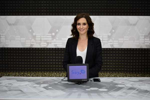 Recibimos a la candidata del Partido Popular a la Comunidad de Madrid