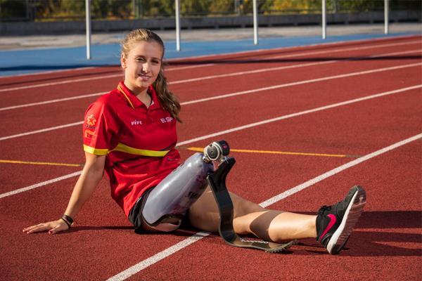 """""""Con el deporte he sabido aceptar mi situación y reinventarme"""""""