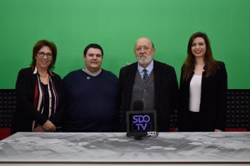 José Félix Tezanos nos visita en los estudios de SDO