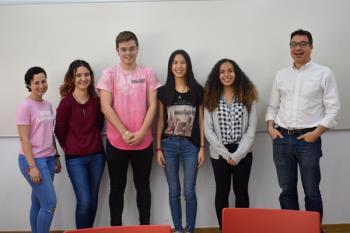 Los alumnos del IES Camilo José Cela ganadores del concurso del BCE