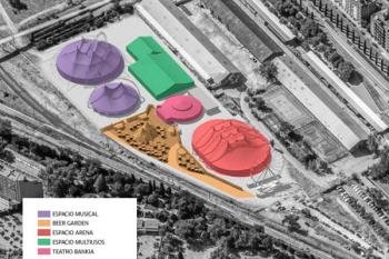 La productora Lets Go es la encargada de gestionar este espacio de 18.000 metros cuadrados