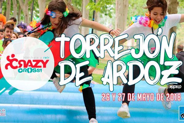 Este fin de semana se celebra en Torrejón la Crazy Cross