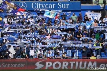 750 pepineros animarán al Leganés en el Coliseum Alfonso Pérez