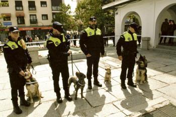 La Policía Local de Majadahonda crea una unidad canina para detectar la posesión de drogas en su municipio