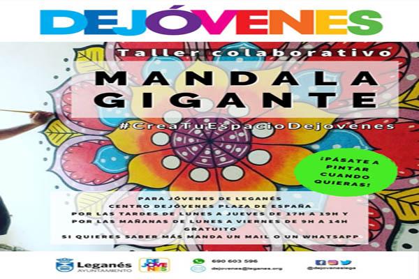 Lee todo sobre el evento Taller Colaborativo Mandala Gigante
