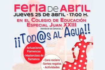 El colegio Juan XXIII celebra su feria flamenca benéfica