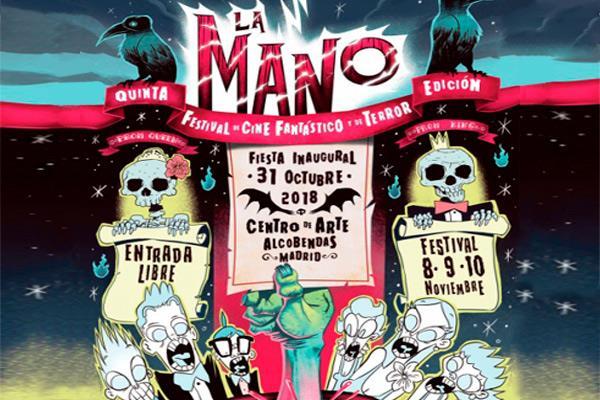 """Festival de Cine de Terror """"La Mano"""" en Alcobendas"""