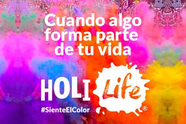 Fiesta Remember en la Carrera de Colores HOLI LIFE en Alcorcón