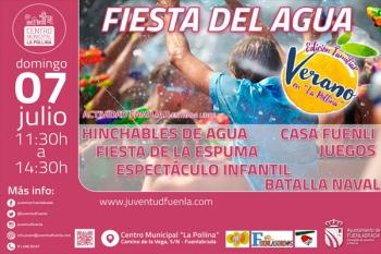Este domingo, refréscate en Fuenlabrada con un montón de actividades y diversión