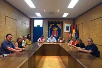 El alcalde de Humanes de Madrid, José Antonio Sánchez, ha felicitado y agradecido el esfuerzo a los 20 contratados