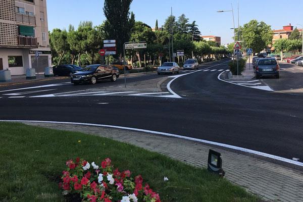Finalizan las obras de asfaltado de la travesía de la M-405