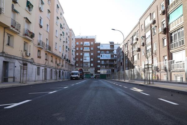 Esta calle se ubica entre Cyesa y San Marcelo y se ha habilitado por petición vecinal