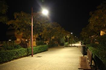 El alumbrado exterior sitúa a la localidad a la cabeza de las grandes ciudades madrileñas