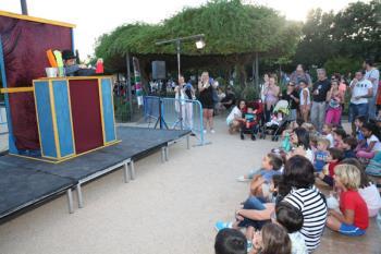 El Parque de la Fuente acoge durante tres días una veintena de espectáculos gratuitos de las mejores compañías nacionales e internacionales
