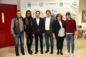 Figuras del deporte como Alberto Contador, Almudena Cid o Gisela Pulido participaron en el Foro de las Ciudades de Fuenlabrada