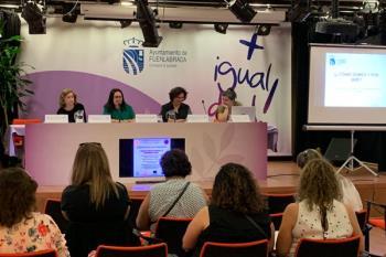 Hoy se ha celebrado la II Jornada de Fomento del Autoempleo y el Emprendimiento en femenino de Fuenlabrada