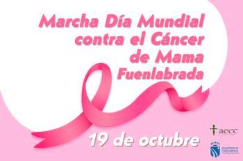 AECC y el Consistorio organizan una marcha en el Día Mundial Contra el Cáncer de Mama