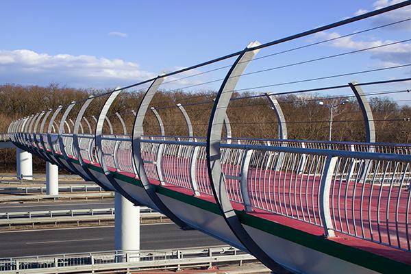La pasarela unirá el Parque Miraflores con Móstoles, sorteando la M-506
