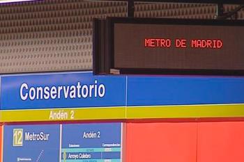 Metro de Madrid inspeccionará su estructura entre las estaciones de Alonso de Mendoza y el Conservatorio de Getafe
