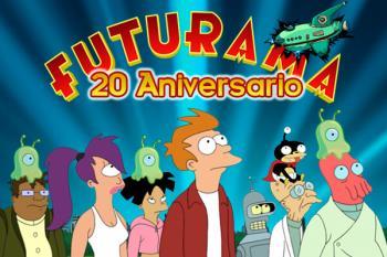 Futurama cumple hoy 30 años