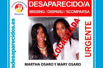 Se solicita ayuda ciudadana para encontrar a dos gemelas irlandesas desaparecidas el pasado jueves