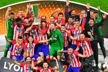 Tercera UEFA Europa League para el Atlético de Madrid