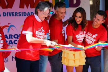 El Parque de Atracciones de Madrid celebró, por tercer año consecutivo, el GayDay Madrid