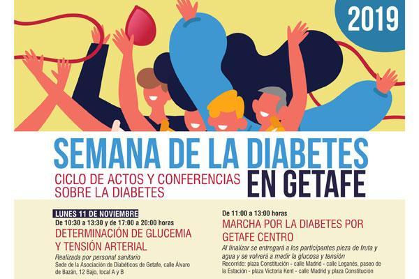 Getafe celebra la 'Semana de la Diabetes'